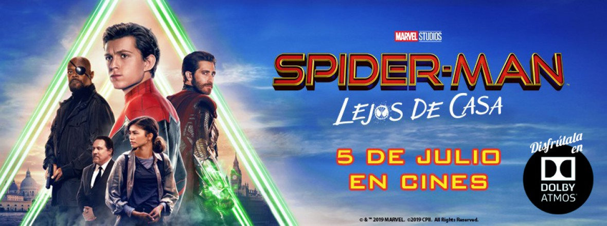 C - Spiderman Lejos ATMOS